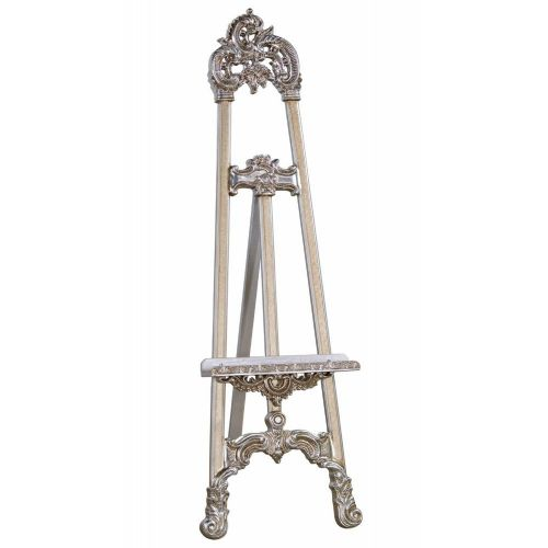 Antique Silver Easel